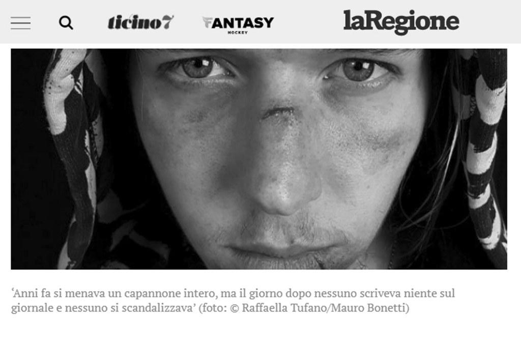 © Scatto fotografo di scena - Trucco cinematografico di ©Raffaela Tufano in collaborazione con Mauro Bonetti, elaborato per i Picchiatori; utilizzabile gratuitamente citando la fonte